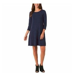 Hilary Radley Pullover Dress Tunic 3/4 Sleeve